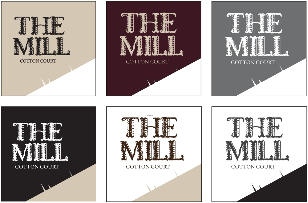 The Mill branding