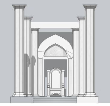 Complex Throne Room - Front