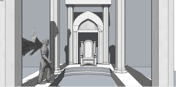 Complex Throne Room - Perspective
