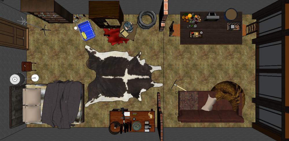Dorian's Room Overhead